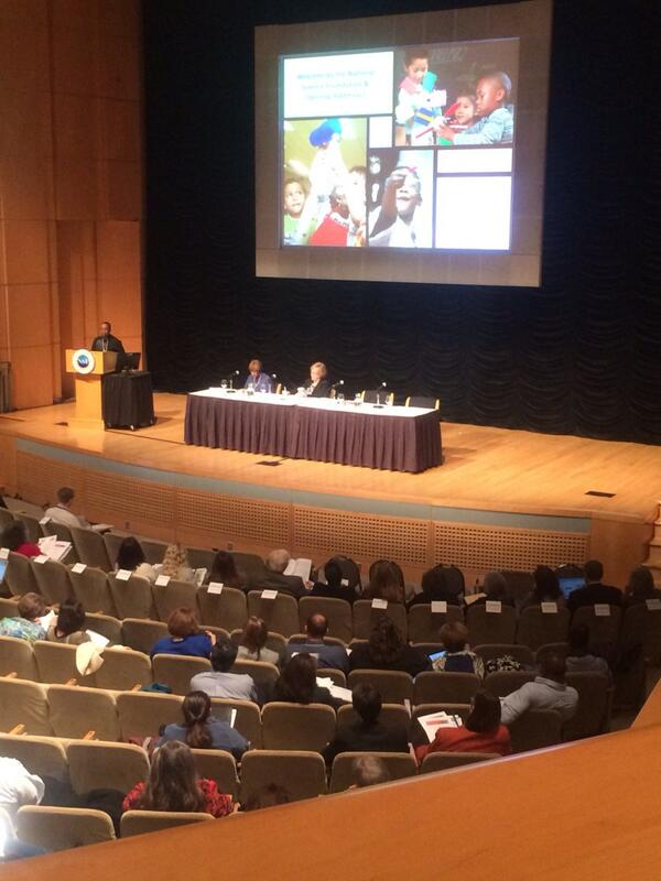 Claudine Brown from the Smithsonian talks about the value of early exposure to science. #nsfstem http://t.co/9AaCeaaCUz