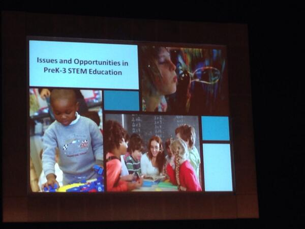 Excited to be at STEM Smart this morning, learning from @NSF and STEM/ECE experts! #nsfstem http://t.co/gJQfxmrgLO