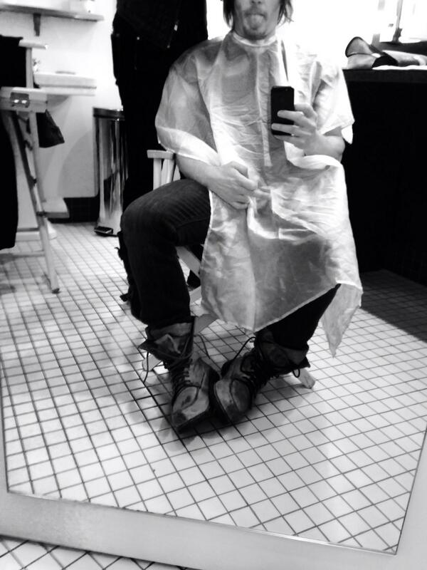 Norman Reedus On Twitter Serafinosays Haircut Httptbnbjdyktjr