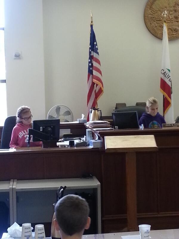 @MrsRocheJSE @JenniferDeWeerd @jseroadrunners @awelcome  - a judge and her clerk http://t.co/u54NnutxpJ