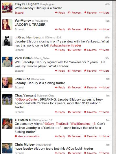 Twitter / GreenbaumAdam: LOL @RedSox fans spelling. ...