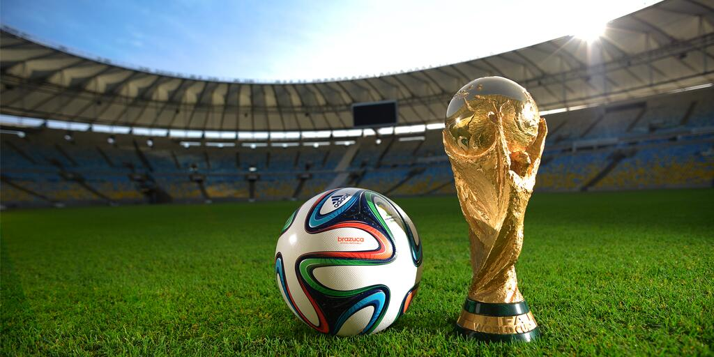 The Brazuca is launched! Adidas unveil the official match ball of the 2014 World Cup in Brazil