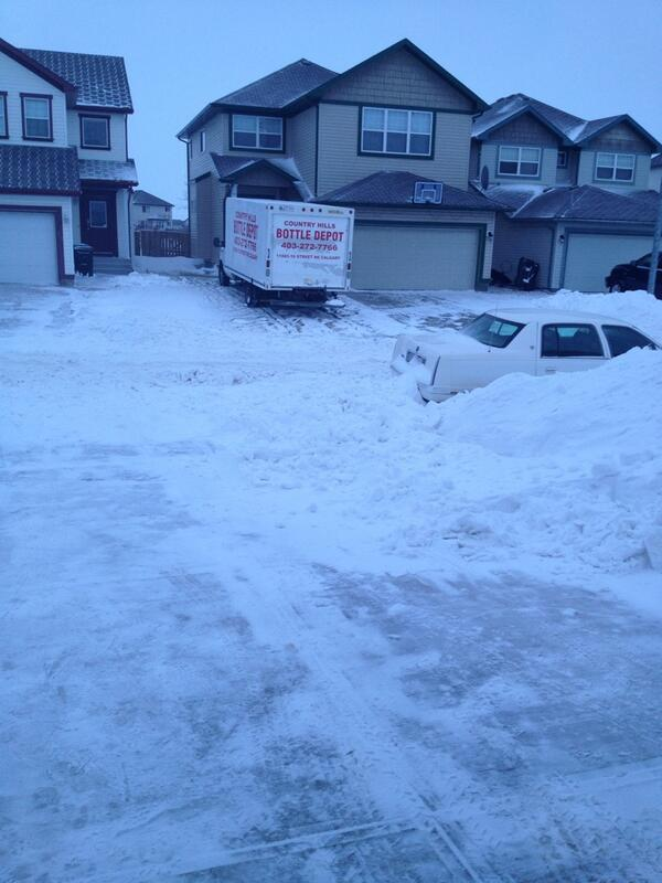2 days of shovelling and it's looking like my #staycation is extended by another day! #yycblizzard http://t.co/1h0Lq2iMoX
