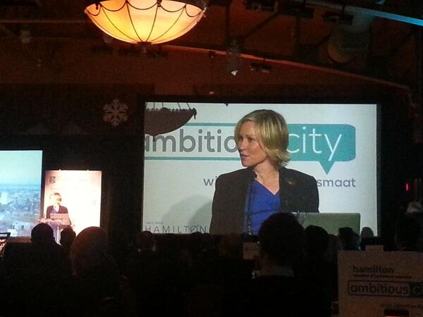 Jennifer Keesmaat speaking at The Ambitious City