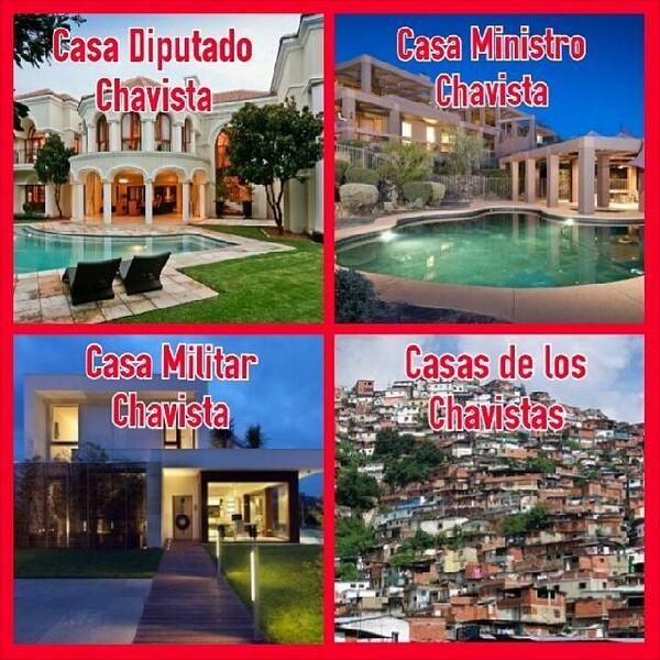 Resultado de imagen para CASA DE UN CHAVISTA