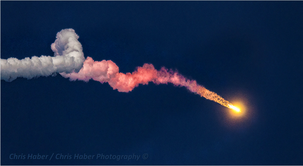 """Sweet!! """"@JUPITERFIX: Look at this Beautiful launch of the #Falcon9 #SES8 I have never seen anything like it!  http://t.co/fshxc9eZAQ"""""""