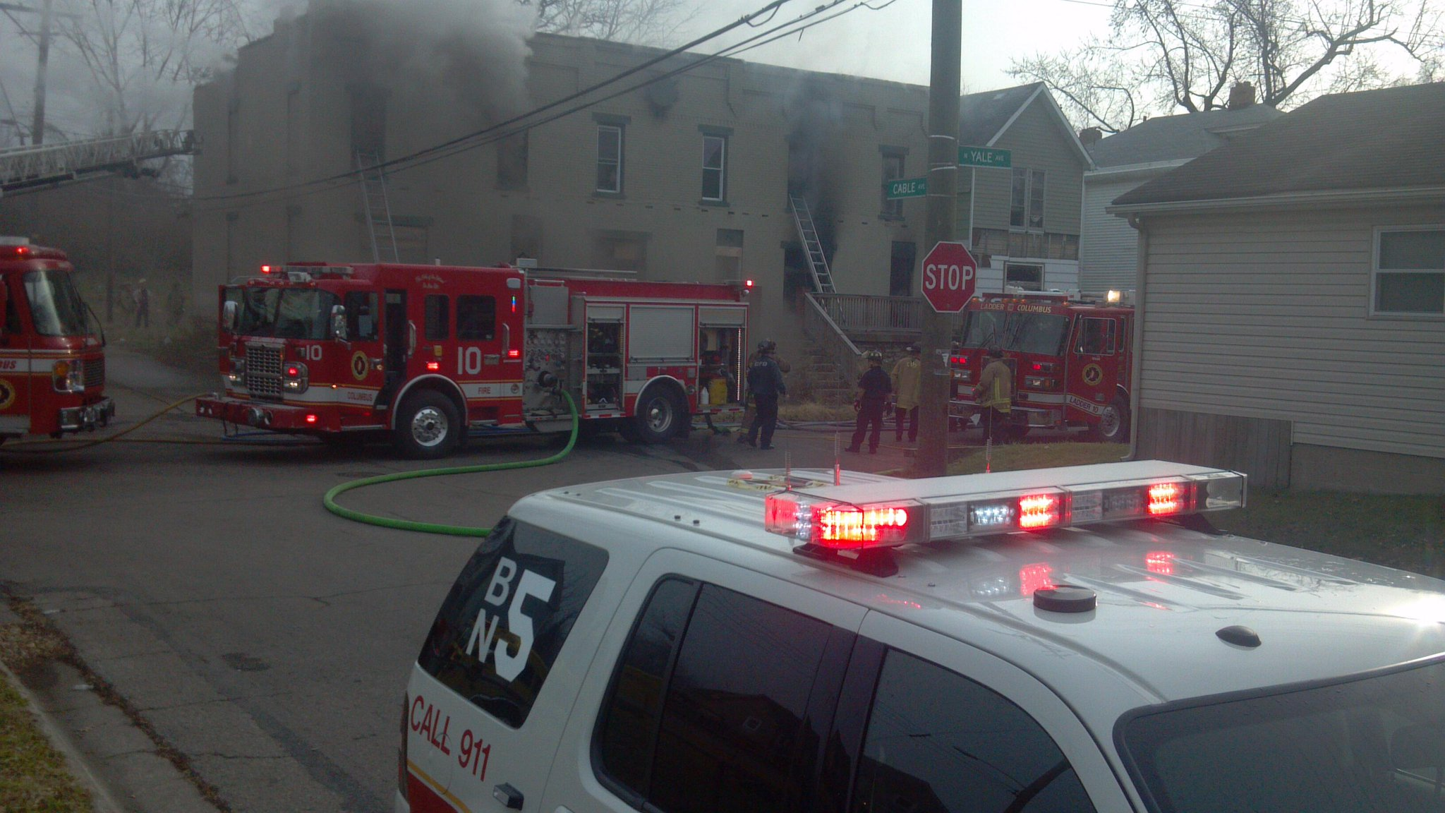 Twitter / wsyx6: #BREAKING: Fire crews have ...
