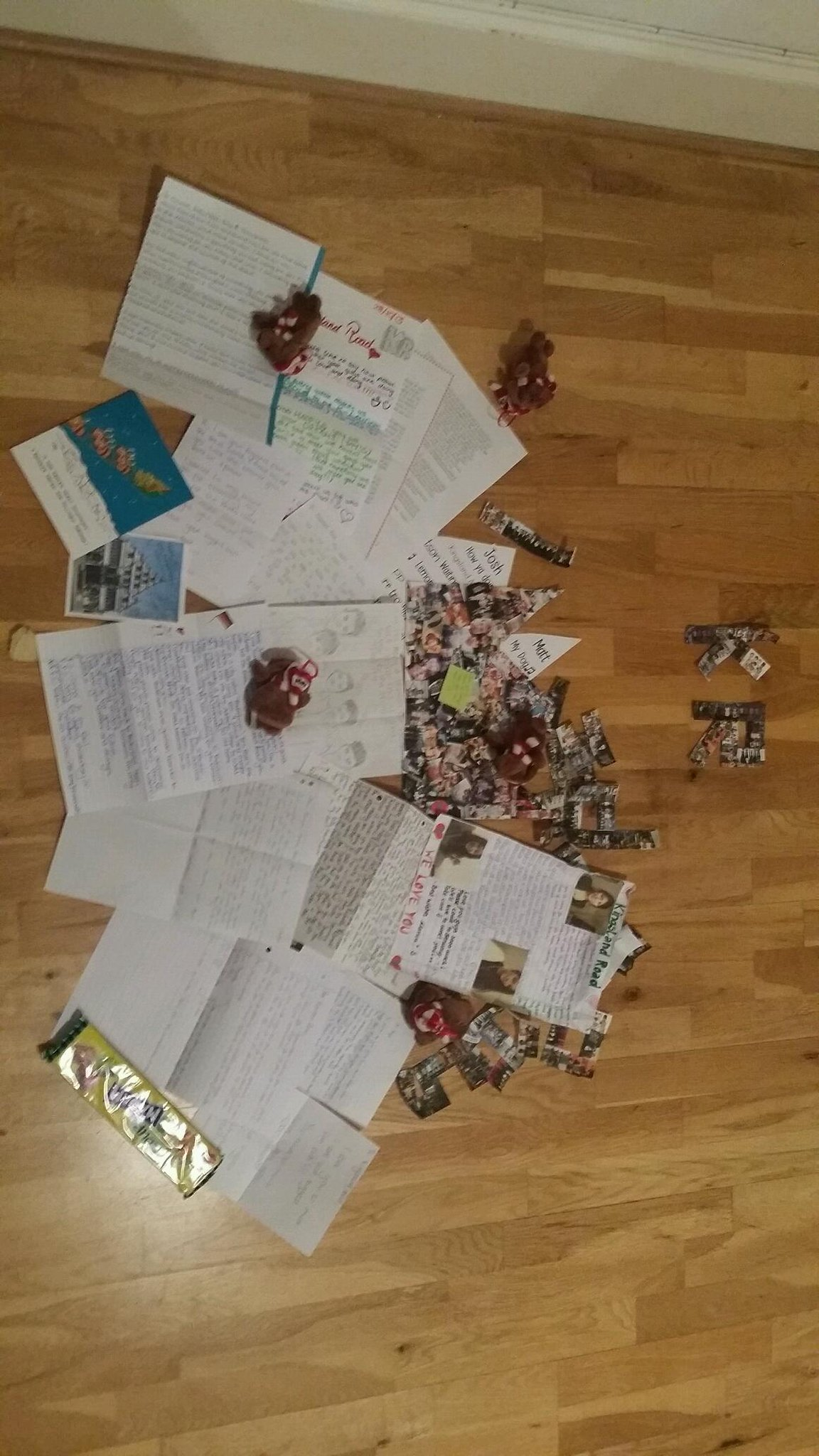Just spent my last hour reading all this! Put a huge smile on my face! Love you KLANDERS x matt http://t.co/UKVjO8rebi