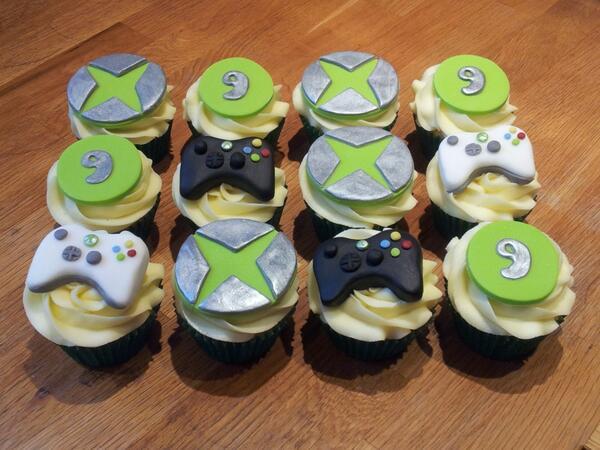 Birthday #cupcakes #xbox
