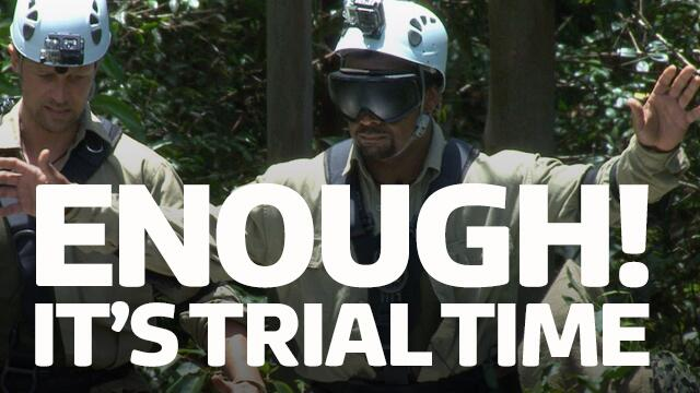ENOUGH! IT'S TRIAL TIME! http://t.co/FJxDa5ScGh #imacelebrity http://t.co/eUCx61sBhU