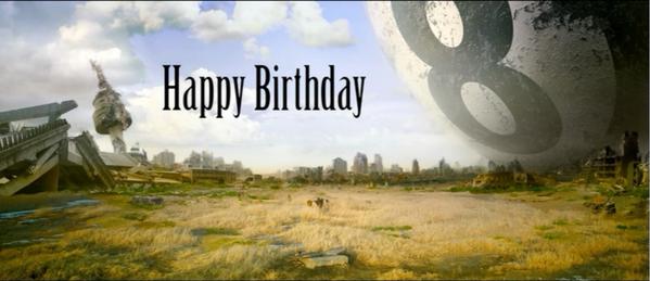 Brian Baskin On Twitter A Surreal Birthday Greetings A Screenshot