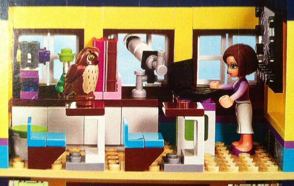 The LEGO Friends school includes a telescope and a microscope! http://t.co/LvLpFLkrwU
