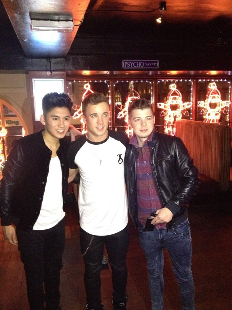 Myself @kevmcguiremusic and @MarkAngelico at Campus in Scotland http://t.co/wQGr6PeC6l