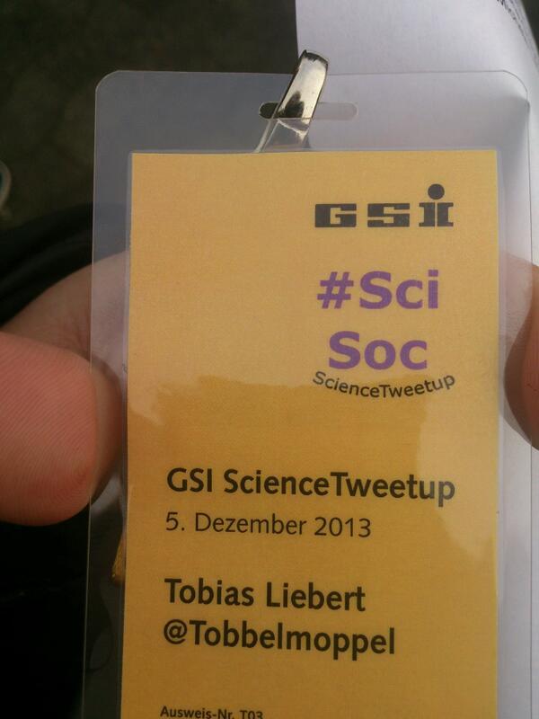 Ich bin da #sciencetweetup http://t.co/JkyS63hZwz