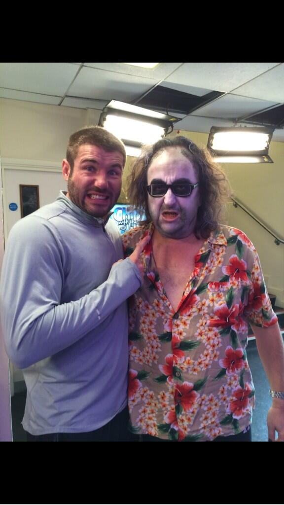 RT @HairyBikers: Great memories Ben Cohen and I backstage Halloween strictly.. Dave http://t.co/dr0mqdsSeA