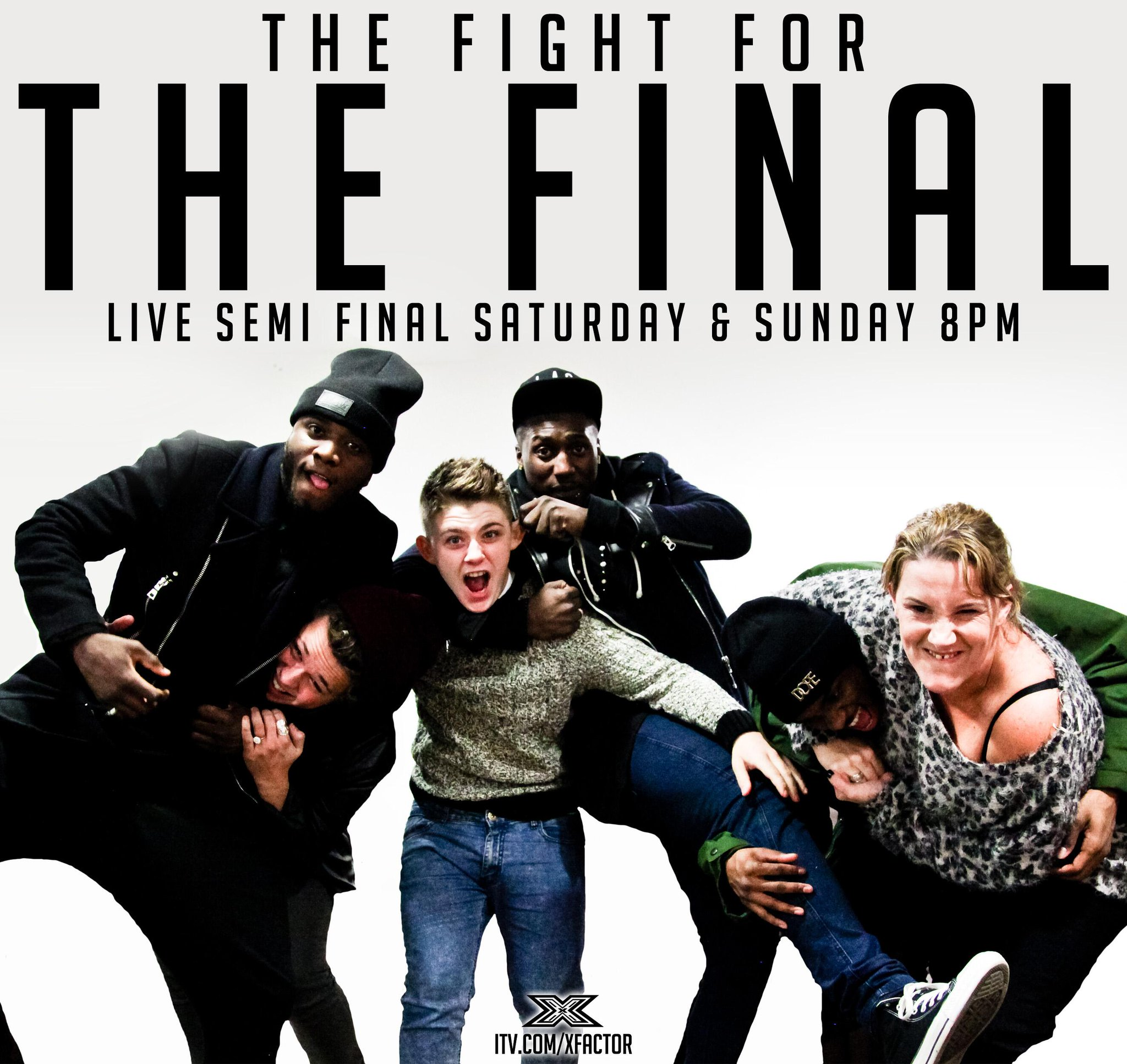 RT @TheXFactor: The fight is on… #XFactor @RoughCopyUK @LukeFriendMusic @nickymcdonald1 @SamBaileyREAL http://t.co/buIsVpNwzD