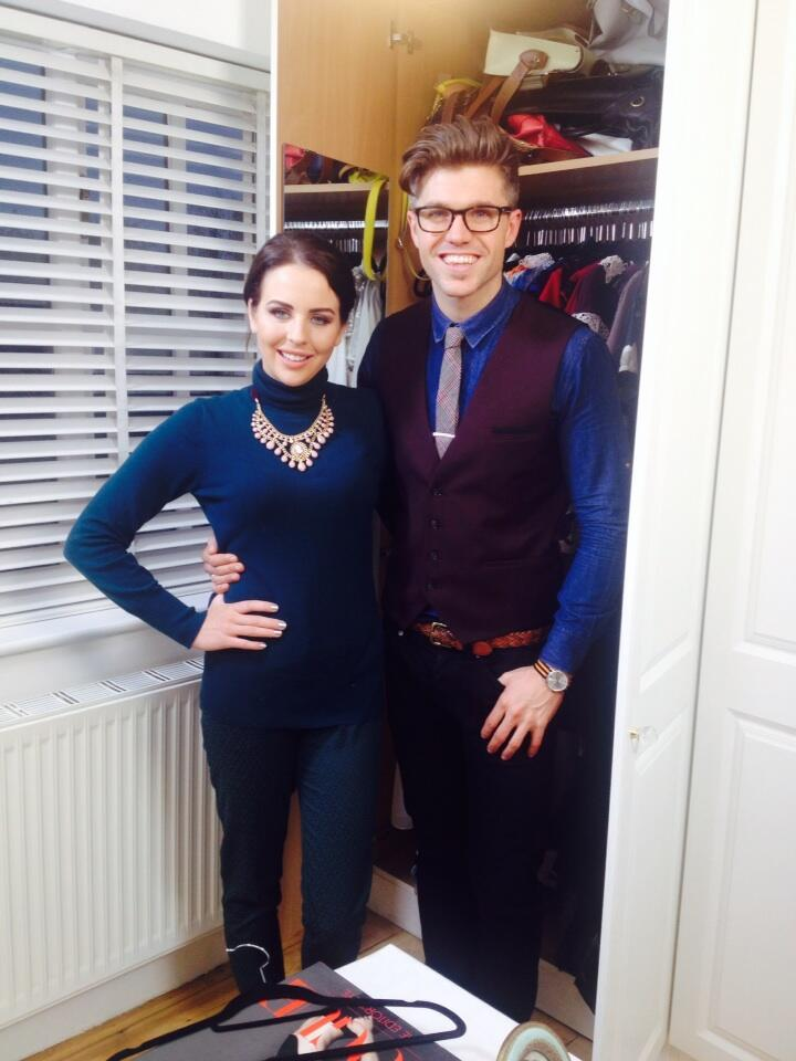 Filming today with the wonderful @Darrenken sooooo much fun http://t.co/icPl8u8Hyd
