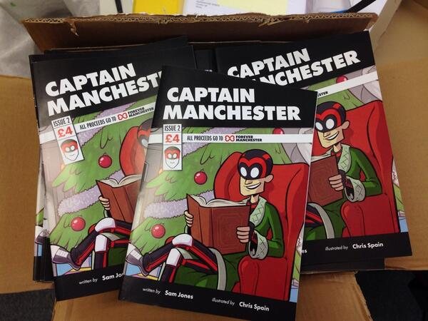 Captain Manchester Issue 2: A Mancunian Carol, out now!