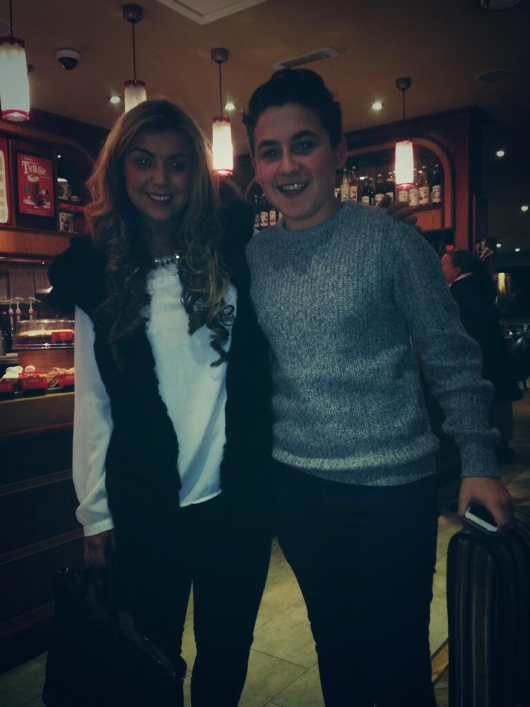 RT @joshlw27: Costa turner with @abigail_clarke http://t.co/qEJhDweCX9