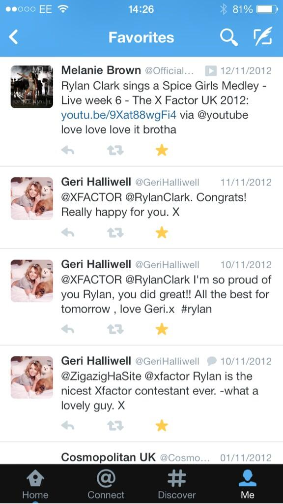 Just looking through old tweets.... This makes my life! @GeriHalliwell @OfficialMelB xxx http://t.co/vnvJSnLhcZ