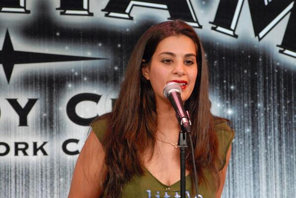Maysoon Zayid is the first woman ever to perform standup in Palestine and Jordan. Hear her speak at #TEDWomen today! http://t.co/gRgX6kEZPx