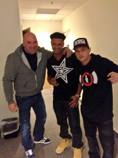 #tbt With My Homies @robdyrdek @danawhite http://t.co/DL8xQmGIBq