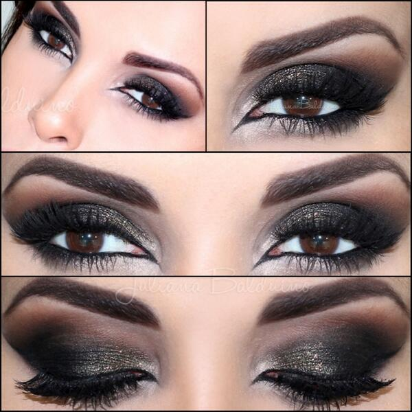 Makeup For Brown Eyes And Black Dress Anexa Market