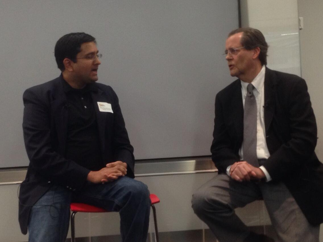 Twitter / ckburgess: @ajay @mnburgess talking about ...