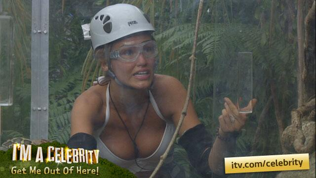 Come on Amy! Those snakes look terrifying. http://t.co/5b85KPGhhy #imacelebrity http://t.co/qA8Ly2vsZf