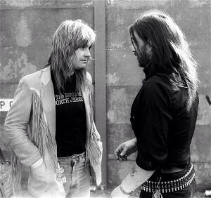 With Lemmy in 1981 #ThrowbackThursday #tbt - http://t.co/e9YikFK1BZ