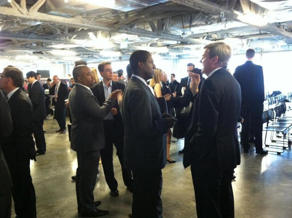 Twitter / MayorWarren: Great to be at @MassChallenge ...
