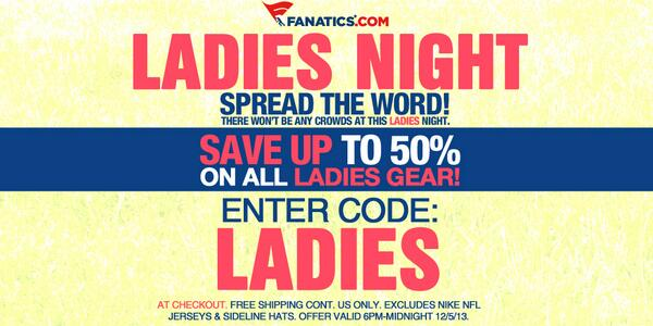 ... on all ladies products   http   tw.fanatics.com pages All League Holiday Sale couponid Ladies source tw-fanscl-TM-ladies-10fs-1-sclmp  …pic.twitter.com  ... d9bb3efc8