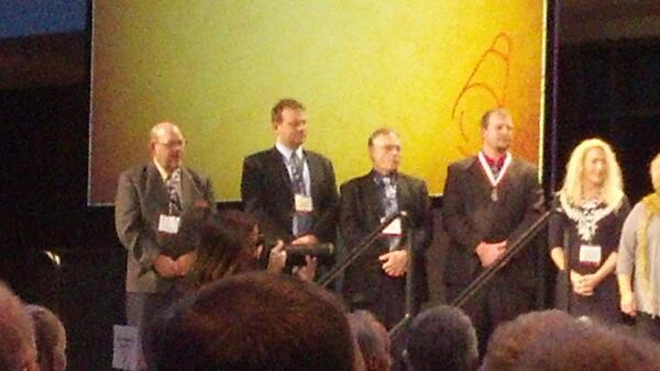 Jack Leslie, Wyandot county farm bureau president recognized at #OFBF13 annual meeting. http://t.co/fREGqjwYJ6