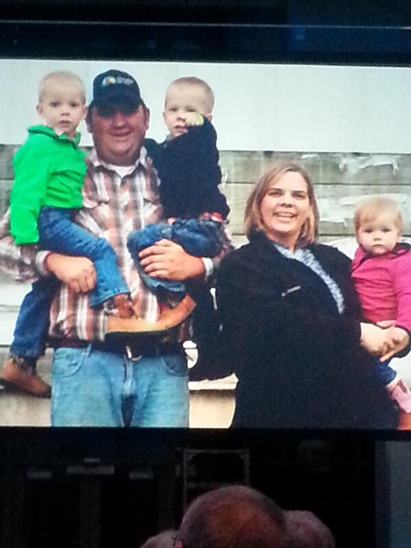 Congratulations @Brown_Farms Nathan and Jennifer Brown for being #ofbf13 outstanding young farmers! #future of ag! http://t.co/H8r4pBOoSZ