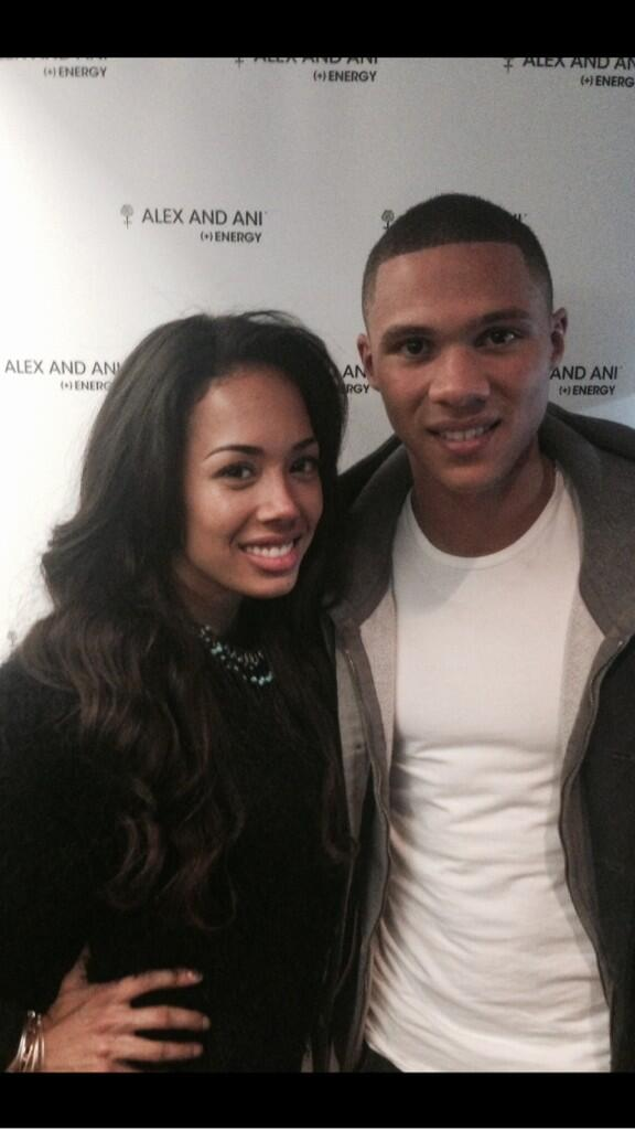 "RT @LoisDowsett: ""@threetrois: Great night with @alexandani at the 02 with @JadeEwen and Kieran Gibbs http://t.co/wZ5W72oCXR"" lovely to mee…"