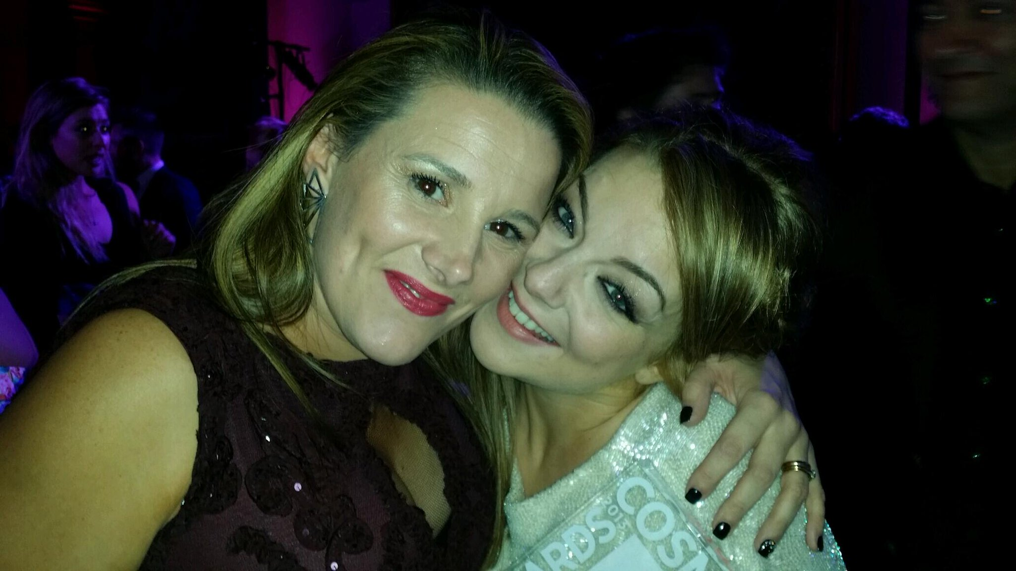 Me and Sheridan Smith http://t.co/3LZ8eqPF4K