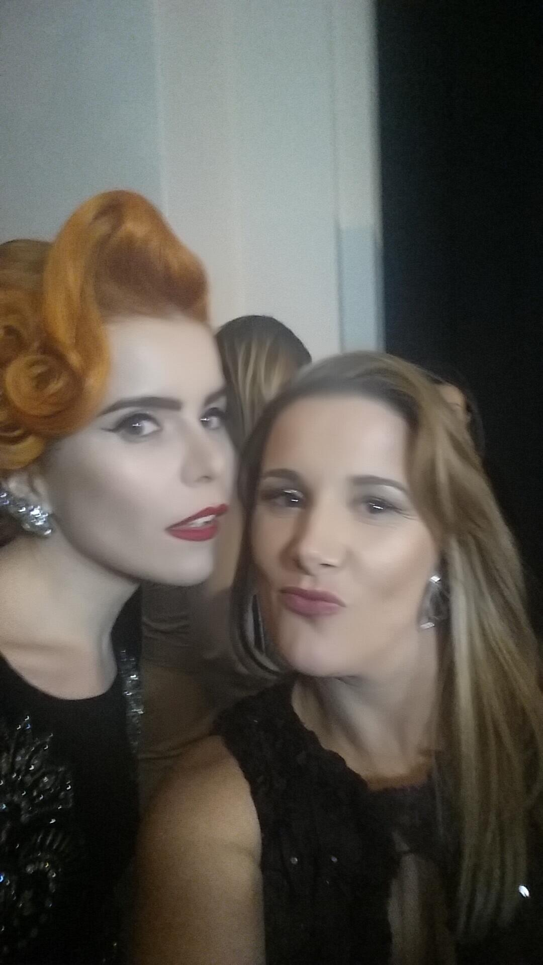 Me and paloma faith x http://t.co/r7bKpBvMYJ