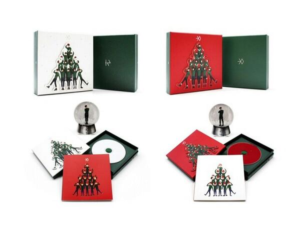 Exo Christmas Album Cover.Cover Poster Exo Miracles In December Album Exotic Planet