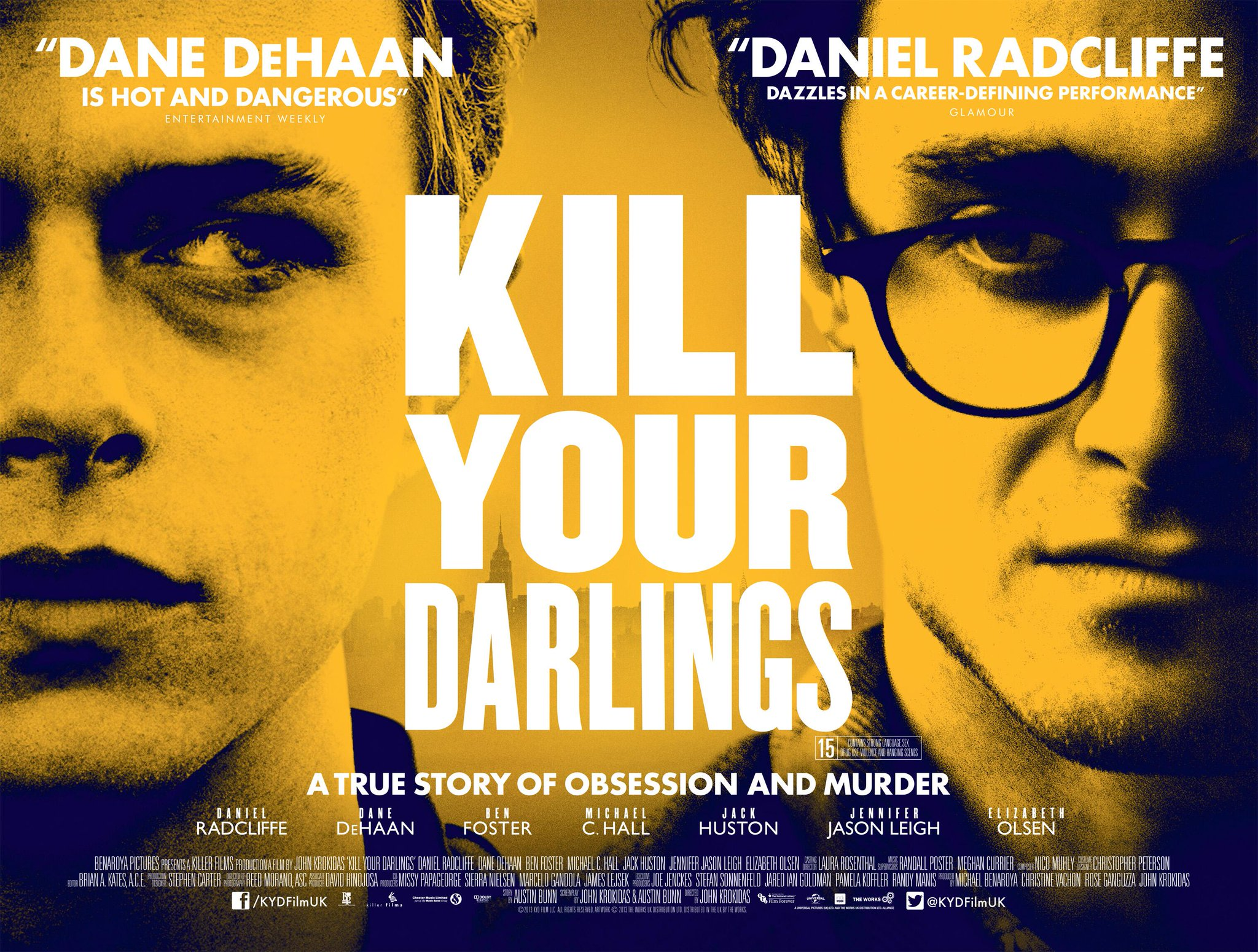 RT @KYDFilmUK: KILL YOUR DARLINGS - OUT TODAY!   Book your tickets here: http://t.co/vIPQJBaUHN http://t.co/EIpyW2jUDm