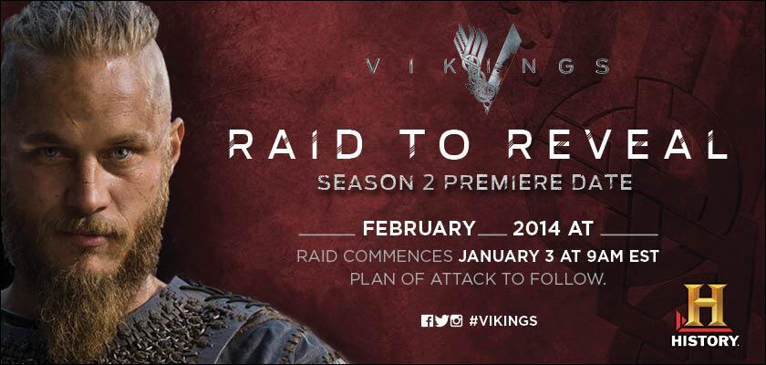 Vikings premiere date in Brisbane