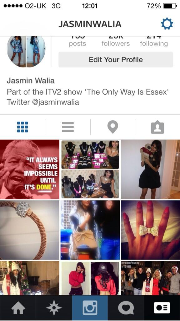 This is my Instagram @jasminwalia others are fake x http://t.co/DNPwHGDVti