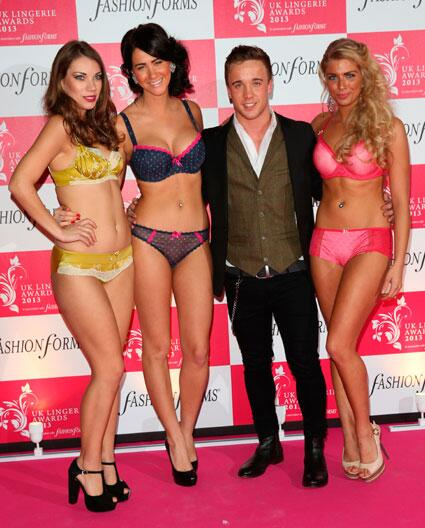 So the Lingerie Awards was fun.. ;) Thanks for having me @UKLingerieAward! http://t.co/2nsSWvio0J