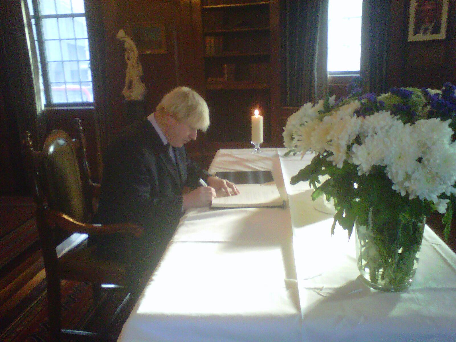 Twitter / MayorofLondon: Honoured to visit South Africa ...