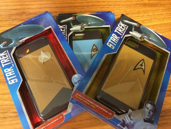 #Win 1 of 3 #StarTrek iPhone 5 phone covers thanks to @BluemouthInt! Follow us & RT this! Draw 12noon AEST tomorrow! http://t.co/RJASisdKS2