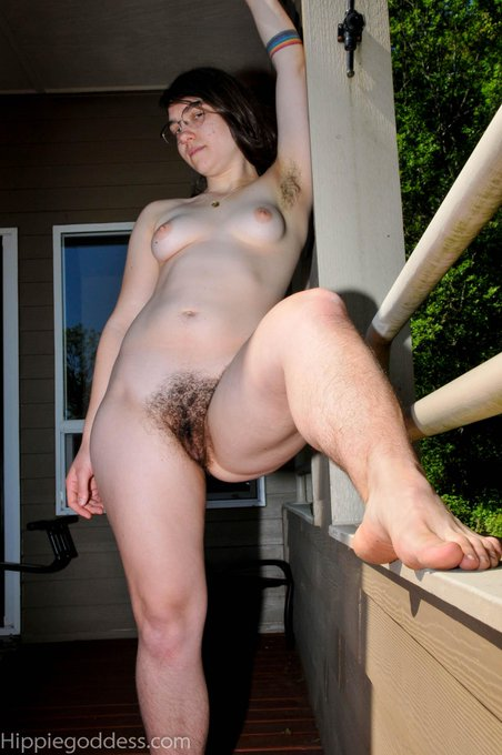 #girlswithglasses, #hairypits, #fullbush, #hairylegs.   This is one sexy #hirsute  Very hot video on
