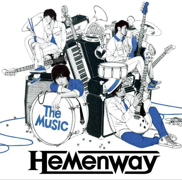 【お知らせ】Hemenway(@Hemenway_jp)1stアルバム『The Music』のジャケットイラストを描かせて頂きました。12/25発売です!よろしくお願いします。詳細はこちらhttp://t.co/a1G9bEwNjL http://t.co/oZLIdzyyKi