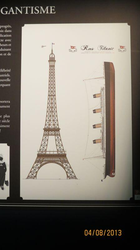 carterie flavie on twitter titanic sa taille comparer avec la tour eiffel. Black Bedroom Furniture Sets. Home Design Ideas