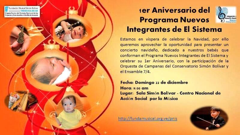 Conservatorio de m sica sim n bol var diciembre 2013 for Conservatorio simon bolivar blog