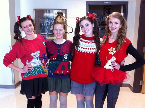 Greeting from Medway's Tacky Sweater Day. #tvdsbcelebrates #apicfromWhoville http://t.co/OsOdUplexq