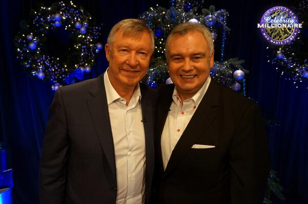Man Uniteds Sir Alex Ferguson wins £50k for charity on Who Wants To Be A Millionaire [Videos]